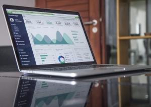 laptop to track hiring data
