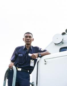 minority truck driver