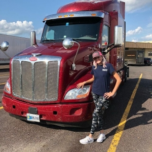 Chelsee Patton and Truck