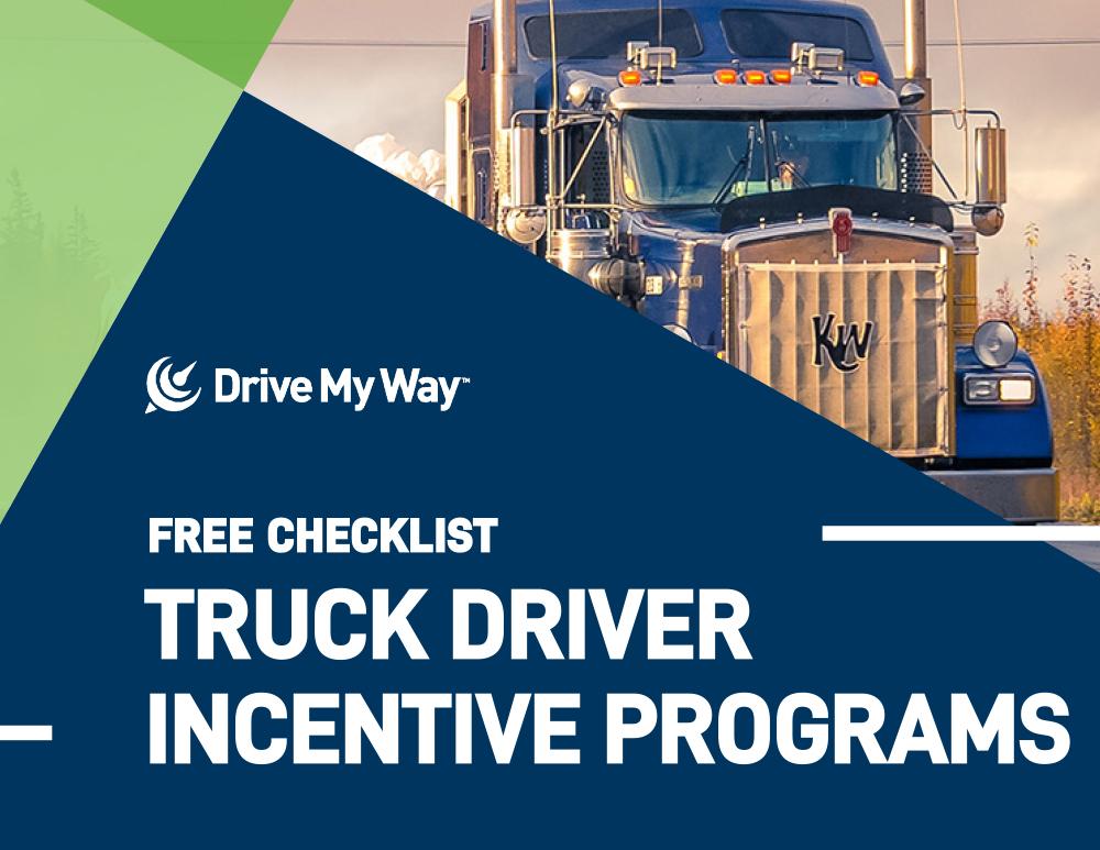 Truck Driver Incentive Program Checklist